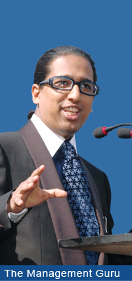 The Management Guru Arindam Chaudhuri